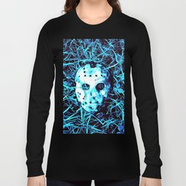jason  mask Long Sleeve T-shirt