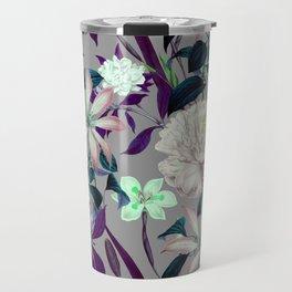 Flowery vintage pattern 0I Travel Mug