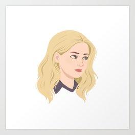 Young Emma Art Print