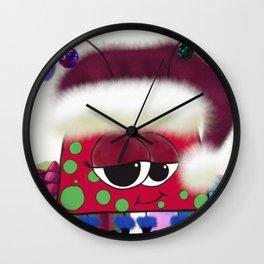 The Christmas Love Bug Wall Clock