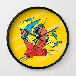 Brawlin' Wall Clock