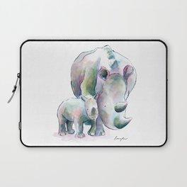 Rhino & Baby Laptop Sleeve