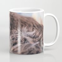 gray Mugs featuring Gray by Chrissy Jenks