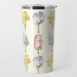 Watercolour Trees Travel Mug