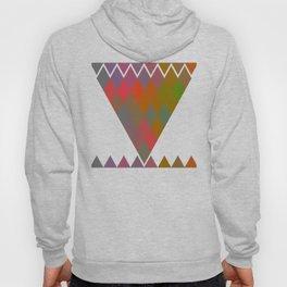 """""""Colorful Rhombus pattern"""" Hoody"""