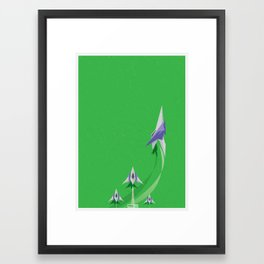 Do a Barrel Roll!  Framed Art Print