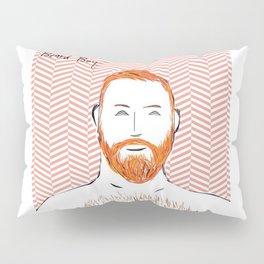 Beard Boy: Red Hot Richard Pillow Sham
