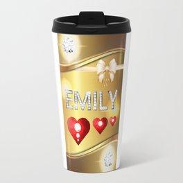Emily 01 Travel Mug