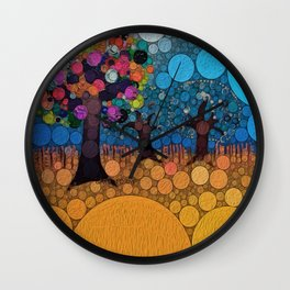 :: Jewel Tree :: Wall Clock