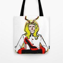 Devils horn VIII POP ART Tote Bag