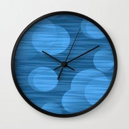 Blue Moon of Kentucky Abstract Wall Clock