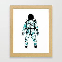 The Astronaut During Interstellar Travel Framed Art Print