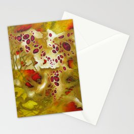 Biomorphic Relations Stationery Cards