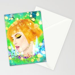Digital Painting - Hayley Williams Stationery Cards