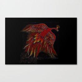 Creature of Fire (The Firebird) Canvas Print