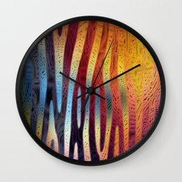 Frustration V Wall Clock