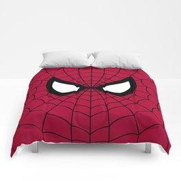 Spider man superhero Comforters