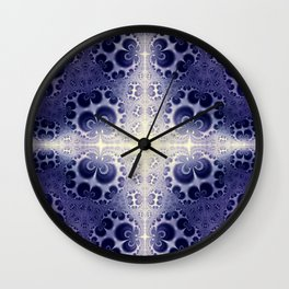 Fractal Abstract 18 Wall Clock