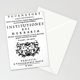 Institutiones Rei Herbariae 1700 Stationery Cards