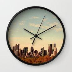 Skyline #1  Wall Clock