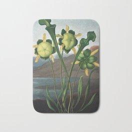 Pitcher Plant - The Temple of Flora Botanical Print Bath Mat