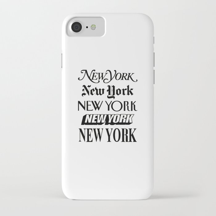 i heart new york city black and white new york poster i love nyc design black-white home wall decor iphone case