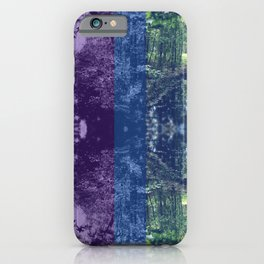 Born on the Bayou Colorblock iPhone Case