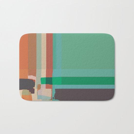 Abstract Painting No. 12 Bath Mat