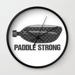 Paddle Strong Wall Clock