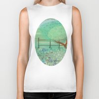 country Biker Tanks featuring Country Lane by Alannah Brid