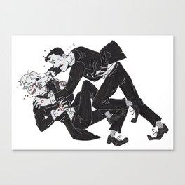 The Thrush Roulette Affair Canvas Print