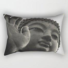 Buddha - at peace Rectangular Pillow