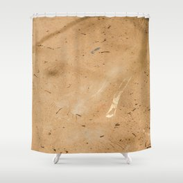 Remains at the Surface I, Killing Fields, Cambodia Shower Curtain