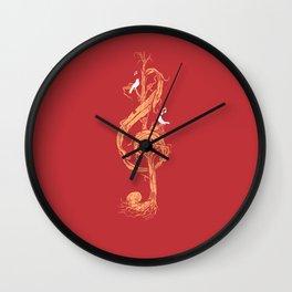 Natural Melody Wall Clock