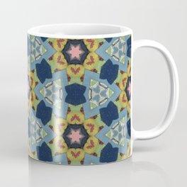 Mixed Media Collage Coffee Mug