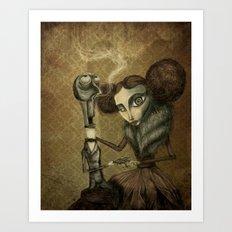 Lady Zakharova Art Print