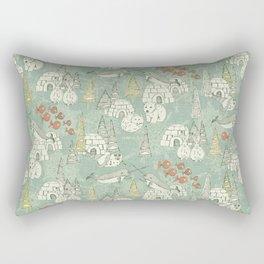 arctic retro Rectangular Pillow