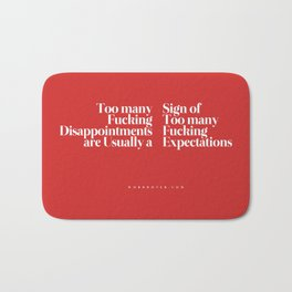 Disappointments Bath Mat