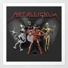 Metallicals (Colaboration between Faniseto & Fuacka) Art Print