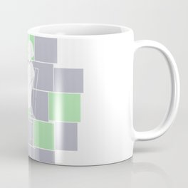 Think there and be square Coffee Mug