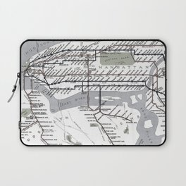 Vintage Subway Laptop Sleeve