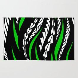 Flowy Green Rug