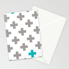 Crossed Stationery Cards