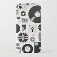 data iPhone & iPod Cases featuring Data by Florent Bodart / Speakerine