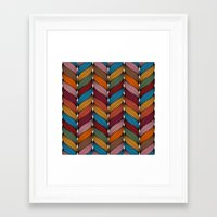 hipster Framed Art Prints featuring Hipster by Rceeh