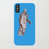 basketball iPhone & iPod Cases featuring basketball by jenapaul