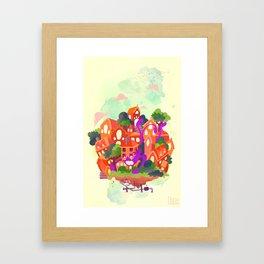 CIVICS 3 Framed Art Print