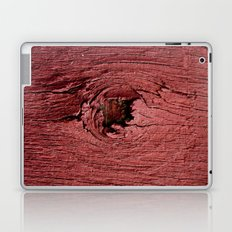 Knotty Red Laptop & iPad Skin