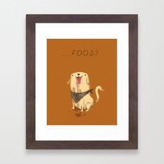 food? Framed Art Print