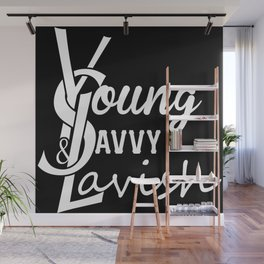 Young | Savvy | & Lavish | YS&L | Vol. 2 | Invert Wall Mural